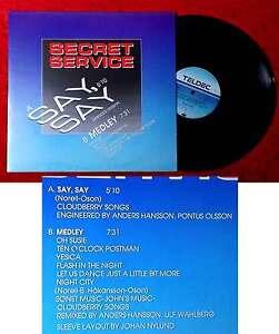 Maxi Secret Service: Say Say (Teldec 620794 AE) D 1987