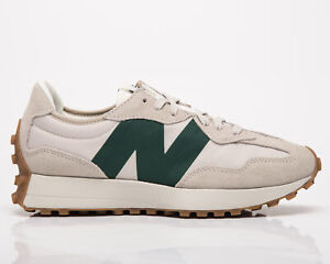 New Balance 327 Men's Timberwolf Nightwatch Green Low Lifestyle Sneakers Shoes