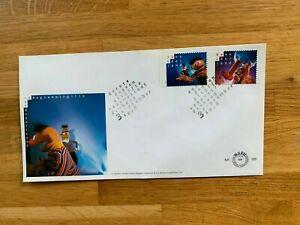 NETHERLANDS 1996 FDC 355 SESAME STREET BERT & ERNIE PINO TOMMIE LEIEMIENIE