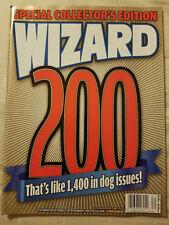 Wizard Comics Magazine #200 GOLD June 2008 Collector's Edition