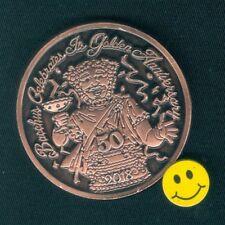 2018 Bacchus ( Theme - 50th Anniversary Antique Bronze) Mardi Gras Doubloon Sale