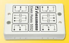 Viessmann 5552 Elektronisches Relais 2x2UM #NEU OVP#
