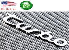 TURBO 3D DECAL METAL CHROME EMBLEM TRUNK BADGE FOR PORSCHE AUDI VW BMW TOYOTA
