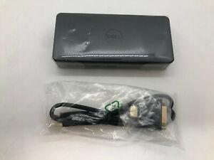 NEW NO BOX Dell D3100 USB 3.0 Ultra HD/4K Triple Display Docking Station - Black