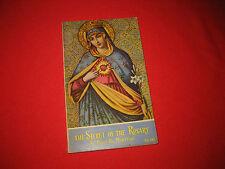 The Secret of the Rosary Saint Louis Grignon de Montfort Catholic religion 1990