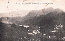 CPA INDOCHINE COCHINCHINE VIET-NAM TONKIN CHAPA 10 vue panoramique écrite