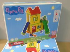 NEW SEALED Peppa Pig Play House Building Blocks Set BIG Bloxx Action Figure