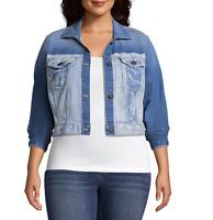 Women's Arizona Lightweight Denim Jacket Color: Blinding Size: Large MSRP $64