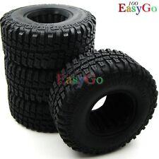 "4pcs RC 1/10 98mm RC4WD Crawler Tires Tyre W/ Foam for 1.9"" Beadlock Rims Wheel"