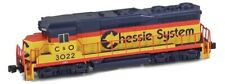 AZL Z Scale Locomotive Chessie C&O GP30 Road Number 3022