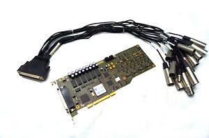 VX822 Professional Audio Balanced Analog and  Digital I/OCard, Breakout Cable
