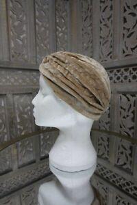 Fashionable Velvet Turban hat Hijab Bonnet Cap