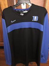 Duke Blue Devils Basketball Nike Team Warm Up Shooting Shirt SZ XL +2 Length