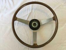 Used genuine OEM Mazda Rotary RX3 or R100 series 2 Fake Woodgrain Steering Wheel