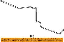 Dodge CHRYSLER OEM Ram 3500 Transmission Oil Cooler-Lower Hose & Tube 52028918AI