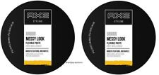 Lot of 2 New Axe Styling Urban Messy Look Flexible Paste 2.64 oz x 2