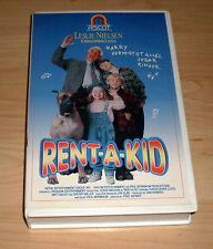 VHS - Rent-A-Kid - Leslie Nielsen - Komödie ( rent a kid ) - Videokassette