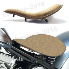 Black Brown Motorcycle Solo Seat Spring Rigid Kit For Harley Sportster 48 Bobber