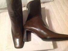 Kaki Nappa leather size 37.5 Brand New