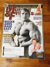 MUSCLE & FITNESS bodybuilding magazine ARNOLD SCHWARZENEGGER 5-09