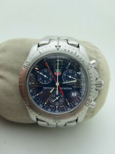 TAG Heuer Men's CT1110.Link Chronograph Stainless Steel Watch