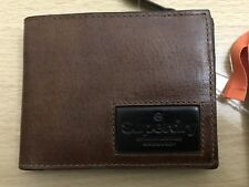 Superdry Super Jackson Leather Wallet - Brown BNWT