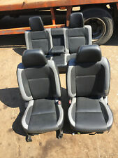 Ford Ranger ET ES 2006-12 Seat Set Leather WITH DOOR CARD TRIMS Ref:132