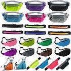 Waterproof Sport Waist Belt Bum Pouch Fanny Pack Camping Running Hiking Zip Bag