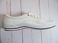 Keds Women's Walking Shoe Sneakers Size 9 Athletic Leather WH14168M White EUC