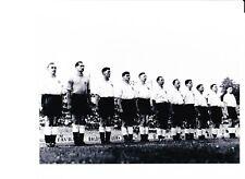 ENGLAND LINE UP 1950S INCLUDING TOMMY TAYLOR & ROGER BYRNE PHOTO