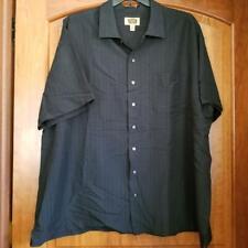 "Men's ""Foundry Supply Co."" 3XL Black, Button-Down Shirt"