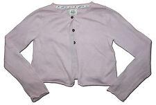 MINI BODEN Size 7-8 Mauve Pink Pretty Cotton Cardigan