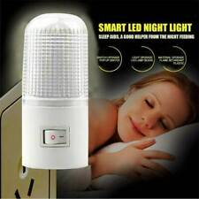 Plug LED Night Light Wall Socket Night Lights Lamp Kids Bedroom Home Decor US