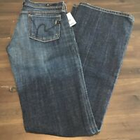 Citizens of Humanity Jeans Women's Ingrid #002 Stretch Low Waist Flare Size 25
