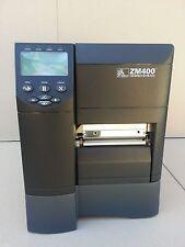 Zebra ZM400 PLUS Thermal Label Printer USB Ethernet Parallel Interface