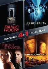 Panic Room/Flatliners/Perfect Stranger/Freedomland (DVD, 2015, 2-Disc Set)