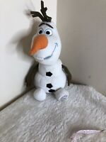 Disney Olaf Frozen 12 Inches  Tall Plush Soft Toy With Stamp Badge