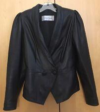 Vintage 1980s Alberto Tesatti Tailor Leather Blazer Jacket