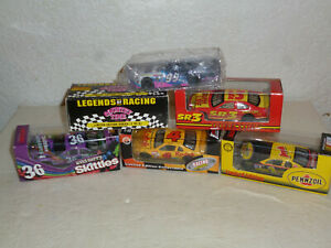 LOT TROWBACK #36,51,99,1,4,+ SR3 6 DIFFERENT DRIVERS ACTION + RCCA NEW 1:64