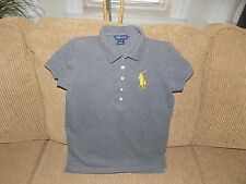 "Pre-Owned Girls' Ralph Lauren ""Big Pony"" Polo Shirt - Size XL (16)"