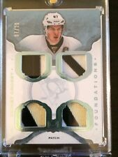 2014-15 The Cup Sidney Crosby Quad Patch Foundations 07/10 CF-CR