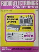 Radio & Electronics Constructor, November 1975