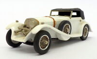 Western Models 1/43 Scale WMS26 - 1929 Mercedes SSK Corsica - White