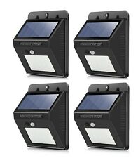 New 6 Outdoor 4 Led Solar Ice Rock Crystal Glass Cube Landscape Lights Path Post