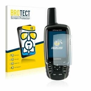 Garmin GPSMAP 62st Hand Held , BROTECT® AirGlass® Premium Glass Screen Protector