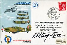 Battle of Britain RAF ace Bob Stanford Tuck signed cover