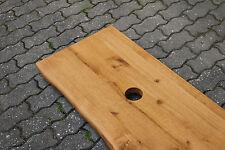 Tischplatte Platte Eiche Massiv Holz mit Baumkante NEU Tisch Brett Leimholz