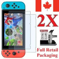 Premium Tempered Glass Screen Protector for Nintendo Switch (2-Pack)