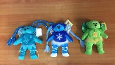 Lot of 3 Beanie Kids - Trickle, Blizzard, Eco - Excellent Condition w/ tags