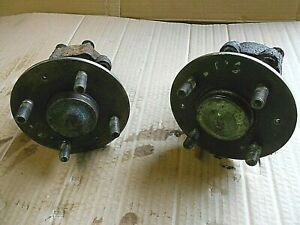 Rover 25 MG ZR 1999 on Pair Rear hubs with stub axles + bearings trailer kit car